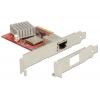 Võrgukaart: PCIe x4, 10-Gigabit Ethernet, RJ45 (Standard + Low Profile)