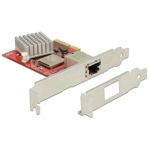 Võrgukaart: PCIe x4, 10-Gigabit Ethernet, RJ45 (Standard + Low Profile)