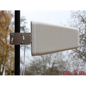 Ringantenn: 8-9 dBi LTE, Bluetooth, UMTS, b/g/n 2.4GHz, välitingimustele, kinnitused komplektis, sma