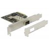 Võrgukaart: PCIe x4,  SFP+ pesa (10-Gigabit Ethernet) standard + low profile