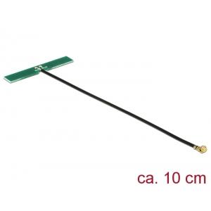 Ringantenn: 3 dBi LTE, GSM, UMTS, sisetingimustele, isekleepuv, MHF