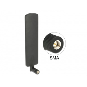 Suundantenn: 2 dBi LTE, Bluetooth, UMTS, b/g/n 2.4GHz, sisetingimustele, sma
