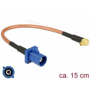FAKRA C pesa - MMCX 90° pesa RG-316 0.15m