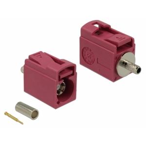 FAKRA H pesa pigistatav 21mm RG-174, RG-316