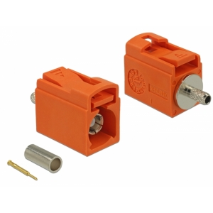 FAKRA M pesa pigistatav 21mm RG-174, RG-316