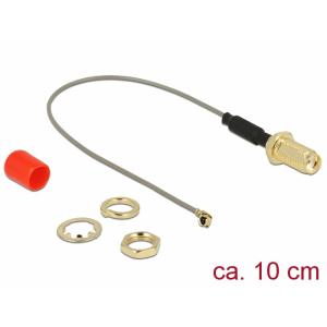 Üleminek antennile SMA - MHF I, 1.13, 10cm, 10mm keermega, ferriidiga
