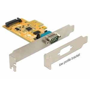 Laienduskaart: PCIe x1, 1 x Serial RS-232, ESD kai...