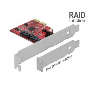 Laienduskaart: PCI x1, 2 x SATA RAID 1 Asmedia ASM...