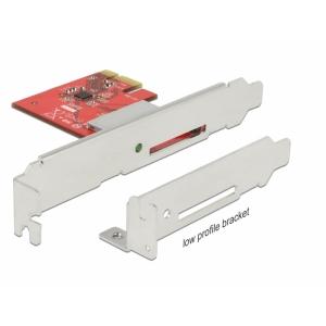 Laienduskaart: PCIe x1, 1 x SDXC