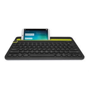 LOGITECH Bluetooth Klaviatuur K480 Must