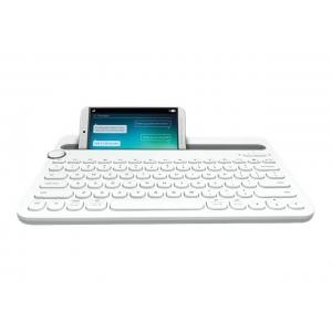 LOGITECH Bluetooth Klaviatuur K480 Valge