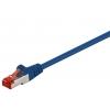 Võrgukaabel Cat6 S/FTP 0.15m, sinine, PiMF, LSZH, CU
