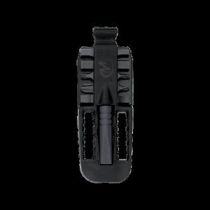 Lisavarustus Leatherman BIT KIT adapter, must, sobib: Rebar, Crunch, Super Tool 300 tööriistale