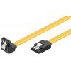 SATA kaabel (SATA 1.5GBs / 3GBs / 6GBs) 0.3m, nurgaga