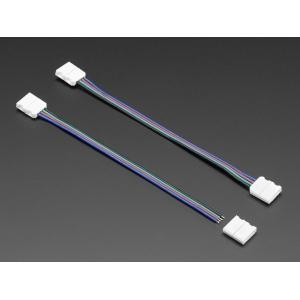 RGB LED riba 4-pin konnektoritega jätkukomplekt