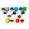 Colorful Square Tactile Button Switch Assortment - 15 pack