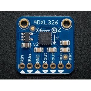 ADXL326 - 3 teljeline kiirendusandur +-16g, analoog väljundiga, 3.3-5V