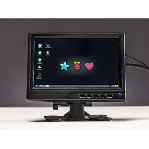 TFT monitor 7´´ 1280x800 IPS, HDMI/VGA/NTSC/PAL