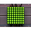 Small 1.2 8x8 Ultra Bright Yellow-Green LED Matrix