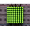 LED maatriks 8x8, 30mm, kollakas-roheline