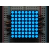 Small 1.2 8x8 Ultra Bright Blue LED Matrix
