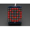 LED maatriks 8x8, 30mm, I2C draiveriga, punane