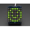LED maatriks 8x8, 30mm, I2C draiveriga, kollakas-roheline