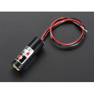Laserdiood - 5mW 650nm, punane
