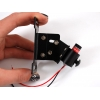Laserdioodi kinnitus, reguleeritav