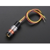 TTL Laserdiood - 5mW 650nm, punane, 50kHz max