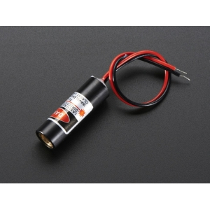 Laserdiood - 5mW 650nm, punane rist