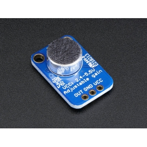 MAX4466 - mikrofon ja eelvõimendi, muudetava võimendusega