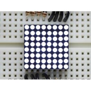 LED maatriks 8x8, 20mm, valge