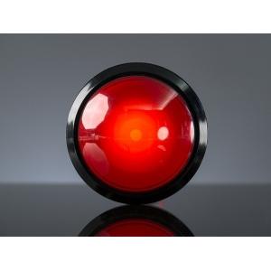 Nupplüliti 100mm, LED valgusega, punane