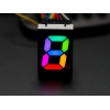 RGB 7-Segment Digit - 1 Tall Digit