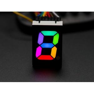 7-segment RGB LED displei, 25,4mm, ühine anood