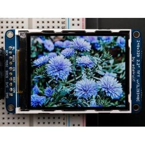 TFT displei 2.2´´ 240x320, MicroSD kaardi lugejaga