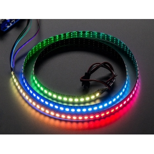NeoPixel LED riba, RGB Digital, 144 LED/m, must alus, 1m