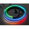 NeoPixel LED riba, RGB Digital, 144 LED/m, valge alus, 1m