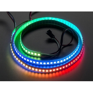 NeoPixel LED riba, RGB Digital, 144 LED/m, valge alus, 1m