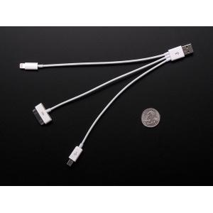 USB laadimiskaabel iPhone/iPad seadmetele, 15cm