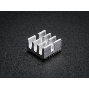 Radiaator 6.3 x 6.3 x 3.6mm, alumiinium, 10 tk