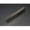 Break-away 2x36-pin strip dual male header
