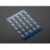 NeoPixel RGB LED trükkplaadil, 25 tk
