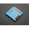 Blue Shortening microSD card adapter for Raspberry Pi  Macbooks