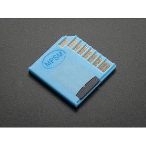 MicroSD kaardi adapter, sinine