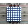 LED maatriks 8x8, 30mm, valge