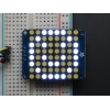 Small 1.2 8x8 Ultra Bright White LED Matrix + Backpack