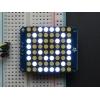 LED maatriks 8x8, 30mm, I2C draiveriga, valge