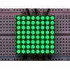 Small 1.2 8x8 Ultra Bright Pure Green LED Matrix